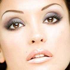 Makeup for Brown Eyes - When choosing the color for your eyes the essential thing to keep in mind is that dark colors can make your eyes look smaller while light, neutral hues can highlight your eyes, thus making them look bigger.
