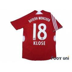 972d92b6447 Bayern Munich 2007-2009 Home Shirt  18 Klose