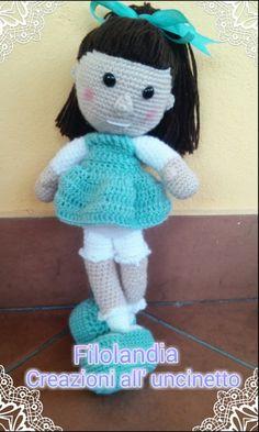 #doll #amigurumi #crochet #uncinetto