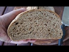 Sweets Recipes, Bread Recipes, Cooking Recipes, Whole Grain Bread, How To Make Bread, Light Recipes, Bakery, Deserts, Food And Drink