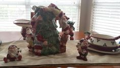Fitz and Floyd Christmas Elves.