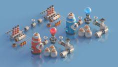 Mini Machines 02 on Behance