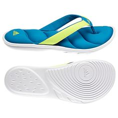 adidas Chilwyanda FitFOAM Slides  Just got these and LOVE them! They are so comfortable...
