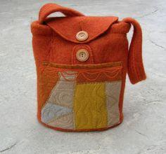 Purses by Lydia  Beautifully made - I love orange!