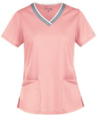 Never stop and never drop with the Butter-Soft STRETCH Active Rounded V-Neck Scrub Top. Buy fun sporty scrubs from Uniform Advantage today! Yoga Scrub Pants, Scrubs Pattern, Uniform Advantage, Scrub Tops, Sorbet, V Neck Tops, Feminine, Ua, Sporty