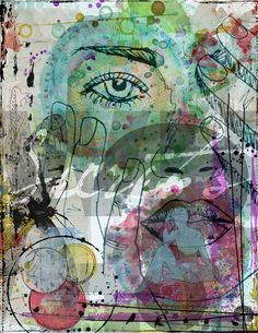 https://flic.kr/p/MZzN9j | SECRETS |    For Art Therapy at Digital Scrapbooking Studio. Elements from The Urban Fairy, Courtney's Design, NBK Design, Vicki Robinson, Rosey Posey, and Angie Young. #artjournal #digitalartjournaling #digitalart