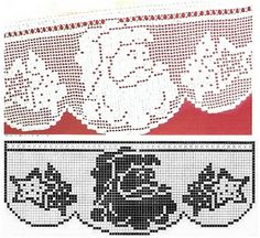 Szydełkomania: Zazdroski świąteczno - zimowe