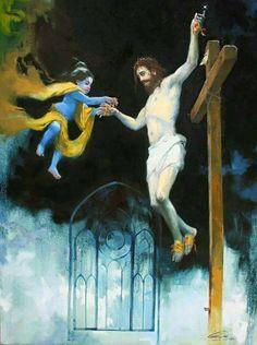 Krishna & Jesus Sananda