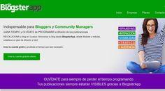 BlogsterApp es una nueva herramienta para la difusión de nuestros posts en las redes sociales. Con plan gratuito, para bloggers y para Community Managers.