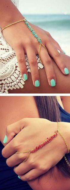 Boho Hand Chain Bracelet ♥