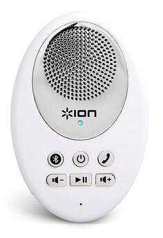 Waterproof Bluetooth speakers will enhance your showers like whoa.