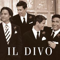 Il Divo - Sebastien, Carlos, David & Urs