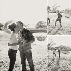 Soccer Engagement Photos @kellieL'heureux