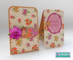 Mini Tarjeta con sobre por Scrap Mo en Sweet Card Club