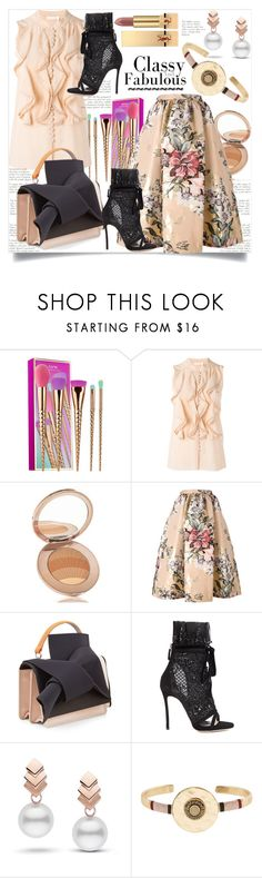 """~~~Classy and Fabulous~~~"" by helenaymangual ❤ liked on Polyvore featuring tarte, Chloé, La Mer, Fendi, N°21, Dsquared2, Escalier, Accessorize and Yves Saint Laurent"