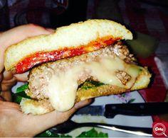 """""""Hamburger ripieno di formaggio"""" , scopri la #ricetta su www.cooktogether.it e scarica l' #app http://goo.gl/jeBeZO #BuonAPPetito"""