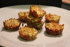 Food I Make My Soldier: Zucchini Bites