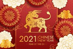 Golden chinese new year 2021 | Free Vector #Freepik #freevector Asian New Year, Chinese New Year Images, Chinese New Year Wishes, Chinese New Year Poster, Chinese New Year Design, Chinese New Year Greeting, New Years Poster, New Year Greeting Cards, Chinese New Year Background