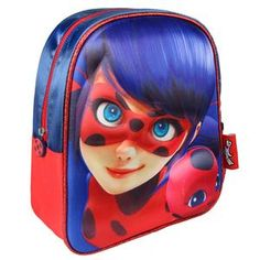 Ladybug Miracoulous Zaino trolley 3d con ruote