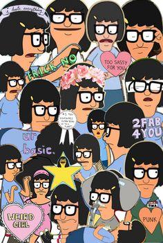 Fan Art of tina belcher for fans of Bob's Burgers. Tina Belcher Costume, Bobs Burgers Wallpaper, Favorite Tv Shows, My Favorite Things, Bob S, American Dad, Futurama, My Spirit Animal, Memes