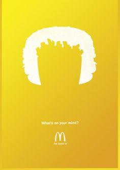 Agence : Heye GmbH, Munich, Allemagne pour McDonald's (janvier 2014)