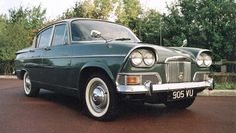 Humber Sceptre with plate 777EAH First car my dad worked on!