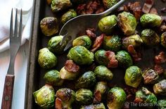 Paleo Thanksgiving - Bacon Brussels Sprouts