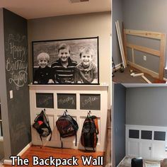 DIY WALL FOR KIDS