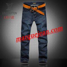Vendre Jeans Louis Vuitton Homme H0020 Pas Cher En Ligne.