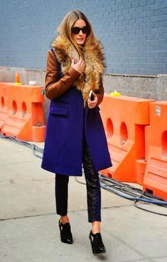 THE OLIVIA PALERMO LOOKBOOK: Olivia Palermo At New York Fashion Week: Diane Von Furstenberg