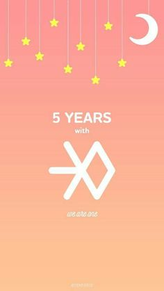 EXO Wallpaper #EXO #5YearsWithEXO