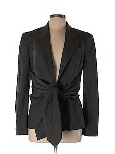 Antonio Marras Women Wool Blazer Size 46 (IT)