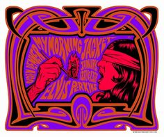 My Morning Jacket Concert Poster By Justin Hampton