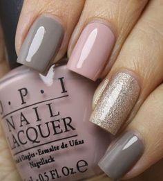 Mix and match nail polish ideas #nails #nailart