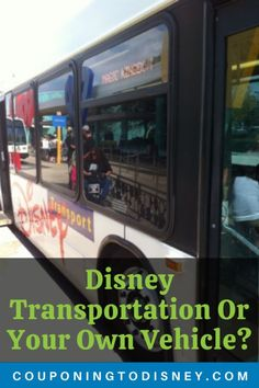 Disney Transportation Or Your Own Vehicle - Which should you use to get around Disney World? Walt Disney World Vacations, Disney Trips, Disney World Transportation, Gas Money, Disney Travel Agents, Disney World Planning, Disney World Tips And Tricks, Cape May, Hollywood Studios