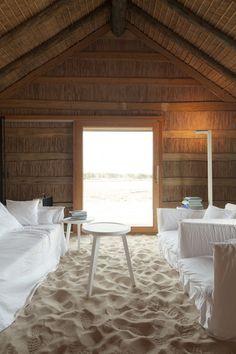 Beach hotel in Portugal