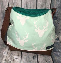 Happybag S Tasche mit Hirschen www.bagstories.at
