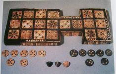 Unos de los juegos de mesa medievales