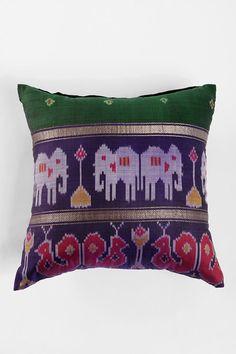 Magical Thinking Silk Sari Pillow  #UrbanOutfitters