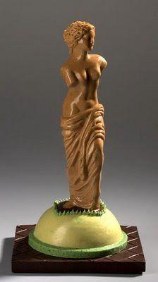 Amazing Chocolate Carving Art