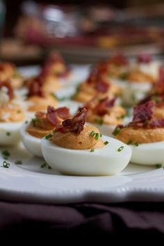 Put a fabulous fall inspired spin on deviled eggs and try my Sweet Potato Deviled Eggs! There's also chipotle cheddar cheese involved so you want to check these out! Creamy, slightly sweet and cheesy, these deviled eggs are amazing! #ad