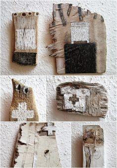 mano's welt: drawing challenge: driftwood / treibholz