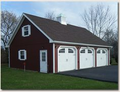 My husband wants a detached garage - I could live with this.. ;)
