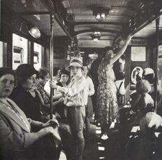 Casparius, Berliner U-Bahn Szene, ca 1930