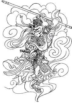 Sun Wukong tattoo design   MasterNyx   Flickr