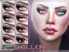 Sims 4 CC's - The Best: Hellion Eyes by Pralinesims