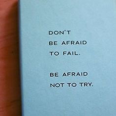 Jennie Allen - Don't be afraid to fail  Be afraid not to try