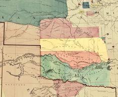 Doug Dawgz Blog: Maps and History of Oklahoma County 1830-1900.1 Native American Cherokee, Native American Tribes, Five Civilized Tribes, Oklahoma, American History, Vintage World Maps, Blog, Genealogy, Fonts