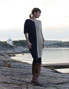 Ravelry: Graphic Winter Dress / Grafisk vinterkjole pattern by Anna & Heidi Pickles Knit Dress, Dress Skirt, Winter Dresses, Knitting Patterns, Fashion Accessories, High Neck Dress, Warm, Womens Fashion, Skirts