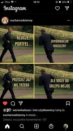 Polish Memes, Weekend Humor, Bts Memes, Haha, Funny, Quotes, Movie Posters, Instagram, Pug